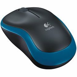 LOGITECH Wireless Mouse M185 - EER2 - BLUE