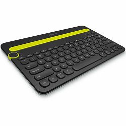 LOGITECH Bluetooth Keyboard K480 - Croatian layout - BLACK