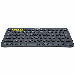 LOGITECH Bluetooth Keyboard K380 Multi-Device -Croatian Layout - DARK GREY