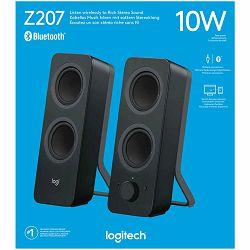 LOGITECH Audio System 2.1 Z207 with Bluetooth – EMEA - BLACK