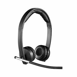 LOGITECH UC Wireless Stereo USB Headset H820E - Business EMEA28
