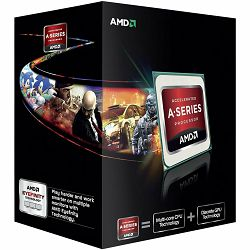 AMD CPU Kaveri A10-Series X4 7850K (4.0GHz,4MB,95W,FM2+) box, Black Edition, Radeon TM R7 Series