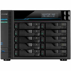 ASUSTOR Tower Lockerstor10 - 10 Bay NAS, Intel ATOM C3538 Quad-Core, 8GB DDR4, 10GbEx2, 2.5GbEx2, USB3.2Gen1x2, M.2 SSD (2280/2260/2242 SATA/PCIe SSD)x2, lockable tray, AES-NI HW encryption, MyArchive