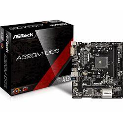 Asrock AMD AM4 Socket A320 chipset (mATX) MB