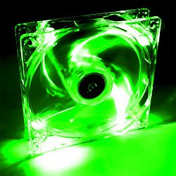 System Fan Akyga AW-12A-BG 12cm LED green