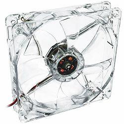 System controlled fan 12cm LED green Akyga AW-12B-BG 3-pin