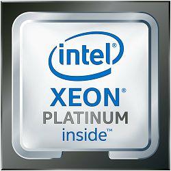 Intel CPU Server Xeon-SC 8160 (24-core, 24/48 Cr/Th, 2.10Ghz, HT, Turbo, 33MB, noGfx, 3xUPI 10.40GT/s, DDR4-2666, 2xFMA_AVX-512, Adv.RAS, FC-LGA14-3647 Socket-P), Tray