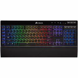 Corsair Gaming K57 RGB Wireless Gaming Keyboard with SLIPSTREAM WIRELESS Technology, Backlit RGB LED, Black (NA)