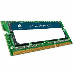 Memory Device CORSAIR Mac Memory (2x8GB,1333MHz(PC3-10600),Unbuffered) CL9, Retail for MacBook® Pro