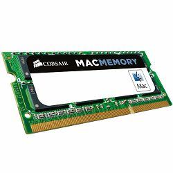 Memory Device CORSAIR Mac Memory (4GB,1333MHz(PC3-10600),Unbuffered) CL9, Retail for MacBook® Pro