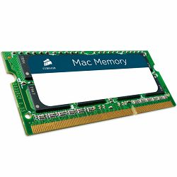 Memory Device CORSAIR Mac Memory (2x4GB,1066MHz(PC3-8500),Unbuffered) CL7, Retail for MacBook® Pro