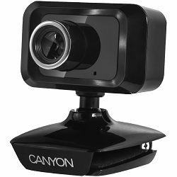 CANYON Enhanced 1.3 Megapixels resolution webcam with USB2.0 connector
