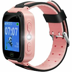 Kids smartwatch, 1.44 inch colorful screen, front camera,   SOS button, single SIM, 32+32MB, GSM(850/900/1800/1900MHz), 400mAh, compatibility with iOS and android, Red, host: 51.6*38.5*14.5mm, strap: