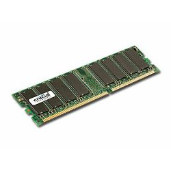 Crucial RAM 1GB DDR 400MHz (PC3200) CL3 Unbuffered UDIMM 184pin