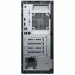 Dell Optiplex 3070 MT BTX w/260W up to 85% efficient PS, Intel Core i5-9500, 8GB DDR4 2666MHz UDIMM Non-ECC, M.2 256GB PCIe NVMe, Intel UHD 630,  8x DVDRW, K+M, Linux, 3Y