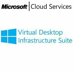 MICROSOFT Virtual Desktop Infrastructure Suite, VL Subs., PC, 1 device, 1 month