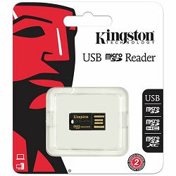 Kingston MicroSD Reader Gen 2 (USB 2.0) EAN: 740617152326