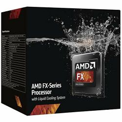 AMD CPU Desktop FX-Series X8 9370 (4.7GHz,16MB,220W,AM3+) box, Liquid Cooling