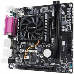 GIGABYTE GA-E2500N AMD E1-2500 (1.4 GHz) Dual-Core APU with Radeon HD 8240, 2xDDR3 DIMMs, HDMI/D-sub, COM/ LPT, 1 x PCI, 2 x SATA, 2 x USB 3.1, 4 x USB 2.0, 1 x PS/2, Mini-ITX