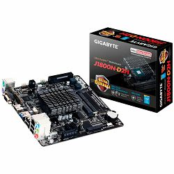 GIGABYTE GA-J1800N-D2H  J1800 (Celeron  J1800 2.41 Ghz,SODIMM 2xDDR3, HDMI/D-SUB , 2xSATA ,PCI Ex1, USB3.0, 2xPS/2, LAN, Audio, mini PCI-E ) Mini-ITX