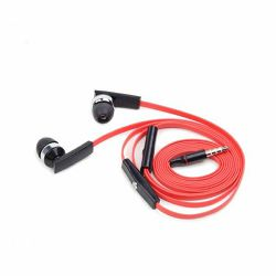 Gembird Earphones with microphone and volume control,