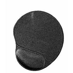 Gembird Gel mouse pad with wrist support, black