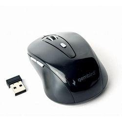 Gembird 6-button Wireless optical mouse, black