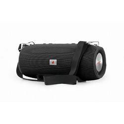 Gembird Bluetooth speaker with powerbank function, black
