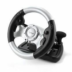 Gembird USB Force feedback steering wheel