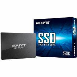 "GIGABYTE SSD 240GB, 2.5"", SATA III, 3D NAND TLC, 500MBs/420MBs, Retail"
