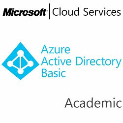 MICROSOFT Azure Active Directory Basic, Academic, VL Subs., Cloud, Single Language, 1 user, 1 year