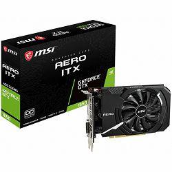 MSI Video Card NVidia GeForce GTX 1650 AERO ITX 4G OC