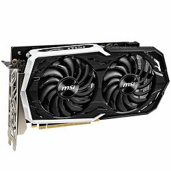 MSI Video Card NVidia GeForce GTX 1660 Ti OC GDDR6 6GB/192bit, 1860MHz/12000MHz, PCI-E 3.0 x16, 3xDP, HDMI, ARMOR 2X Cooler (Double Slot), Backplate, Retail