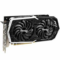 MSI Video Card NVidia GeForce GTX 1660 Ti OC GDDR6 6GB/192bit, 1860MHz/12000MHz, PCI-E 3.0 x16, 3xDP, HDMI, ARMOR 2X Cooler (Double Slot), Backplate, Retail
