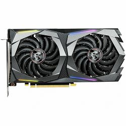MSI Video Card NVidia GeForce GTX 1660 Ti GAMING GDDR6 6GB/192bit, 1770MHz/12000MHz, PCI-E 3.0 x16, 3xDP, HDMI, Twin Frozr VII Cooler LED(Double Slot), RGB Mystic Light, Backplate, Retail