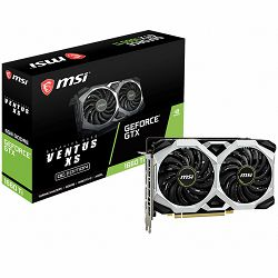 MSI Video Card NVidia GeForce GTX 1660 Ti VENTUS XS 6G OC