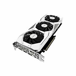GIGABYTE Video Card NVidia GeForce RTX 2070 GAMING OC WHITE GDDR6 8GB/256bit, 1725MHz/14000MHz, PCI-E 3.0 x16, HDMI, 3xDP, USB Type-C, WINDFORCE 3X Cooler (Double Slot) RGB Fusion, Metal Backplate, Re