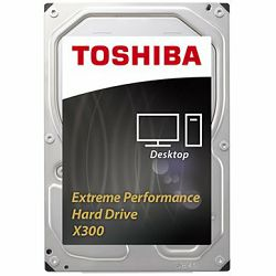Toshiba HDD NAS/Video sur. N300 (6TB, 7200RPM, 128Mb, NCQ, AF)