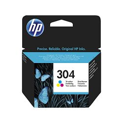 HP 304 Tri-color Ink Cartridge, N9K05AE