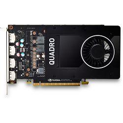 NVIDIA Quadro P2200 5GB (4)DP GFX, 6YT67AA
