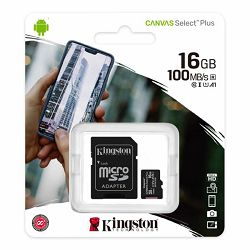 Kingston MicroSDHC Class10 16GB