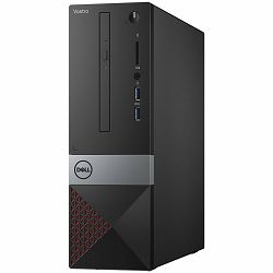 DELL Vostro Desktop 3470, EPA chassis MOD with TPM, Intel Core i3-9100 (4Core/ 4-Thread, 6M Cache , 4.2GHz), 4GB (1x4GB) DDR4 2666MHz, 1TB 7200RPM SATA, Integrated Graphics, DVDRW, WiFi, BT, K+M, Linu