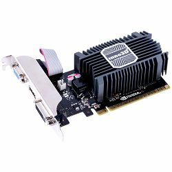 Inno3D Video Card GeForce GT730 2GB SDDR3 64-bit 902 1600 DVI+VGA+HDMI Heatsink+LP Bracket