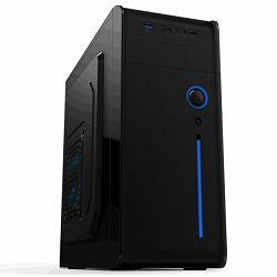 NaviaTec ATX Mid Tower PC Case,1xUSB2.0, 1xUSB3.0, No PSU