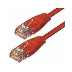NaviaTec Cat5e UTP Patch Cable 0,5m red