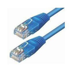 NaviaTec Cat5e UTP Patch Cable 0,25m blue