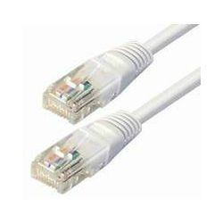 NaviaTec Cat5e UTP Patch Cable 0,25m white