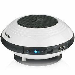Toshiba portable wireless speaker TY-SP1, BT 3.0, White