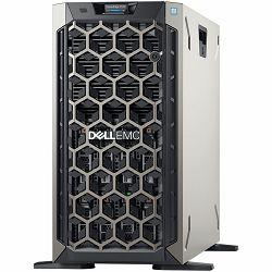 DELL EMC PowerEdge T340 8x 3.5in Hot-Plug, Intel Xeon E-2124 (3.3GHz,8M,4C/4T,turbo,71W), 16GB 2666MT/s DDR4 ECC UDIMM, 2TB 7.2K RPM NLSAS 12Gbps 512n 2.5in Hot-Plug, PERC H730P RAID 2GB NV, iDRAC 9 B