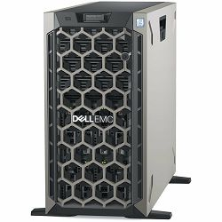 DELL EMC PowerEdge T440 8x 3.5in, Intel Xeon Silver 4210 2.2G, 10C/20T, 9.6GT/s, 13.75M Cache, Turbo, HT (85W), 16GB RDIMM 2666MT/s, 600GB 10K RPM SAS Hot Plug, PERC H730P RAID, iDRAC9,Enterprise, RPS